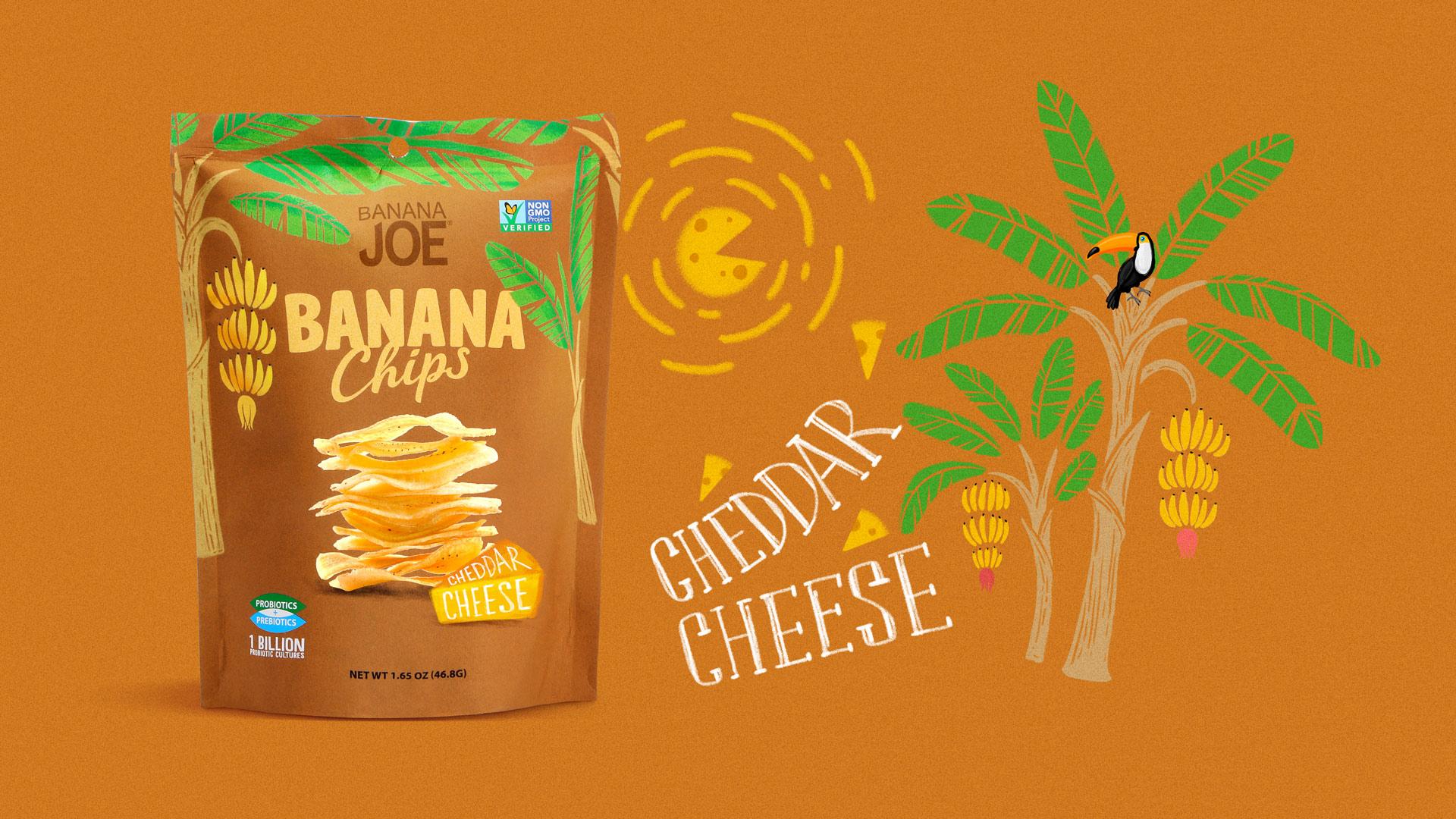 Дизайн упаковки Banana Joe Banana Joe