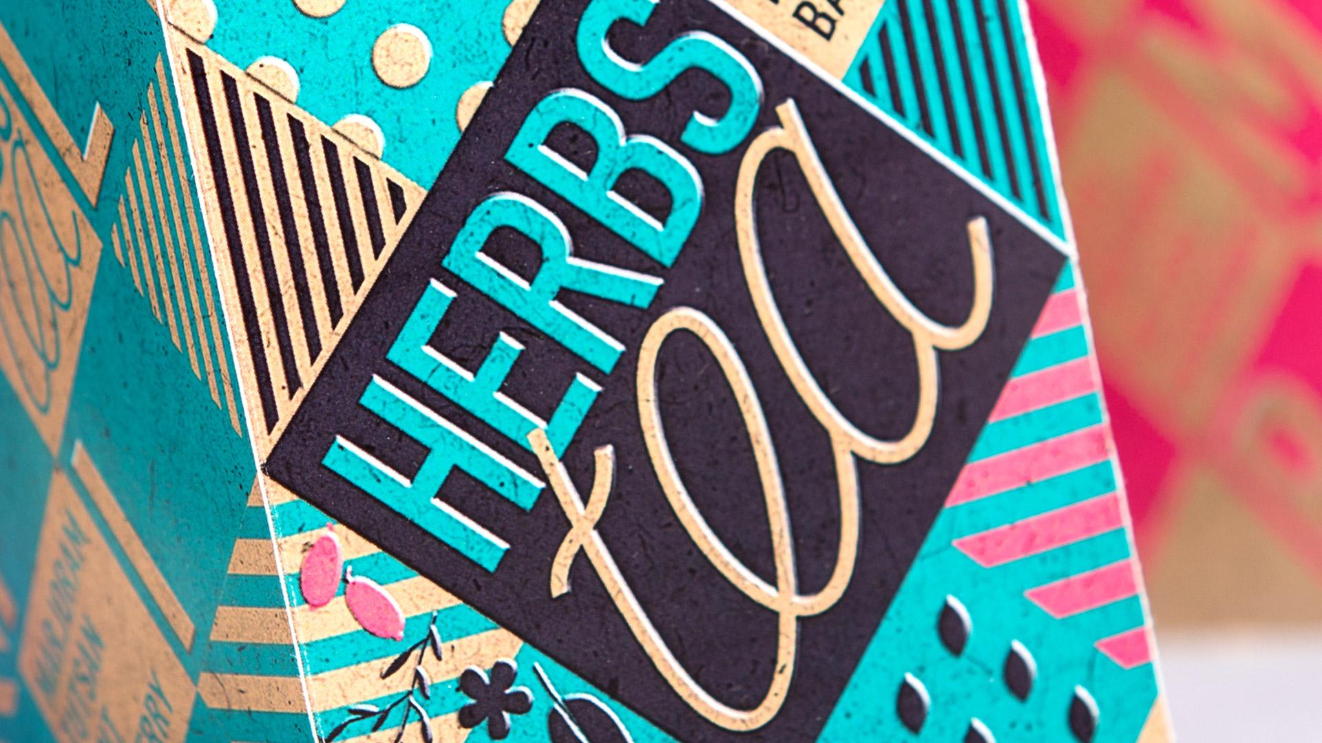 Дизайн упаковки чая Harbs Tea