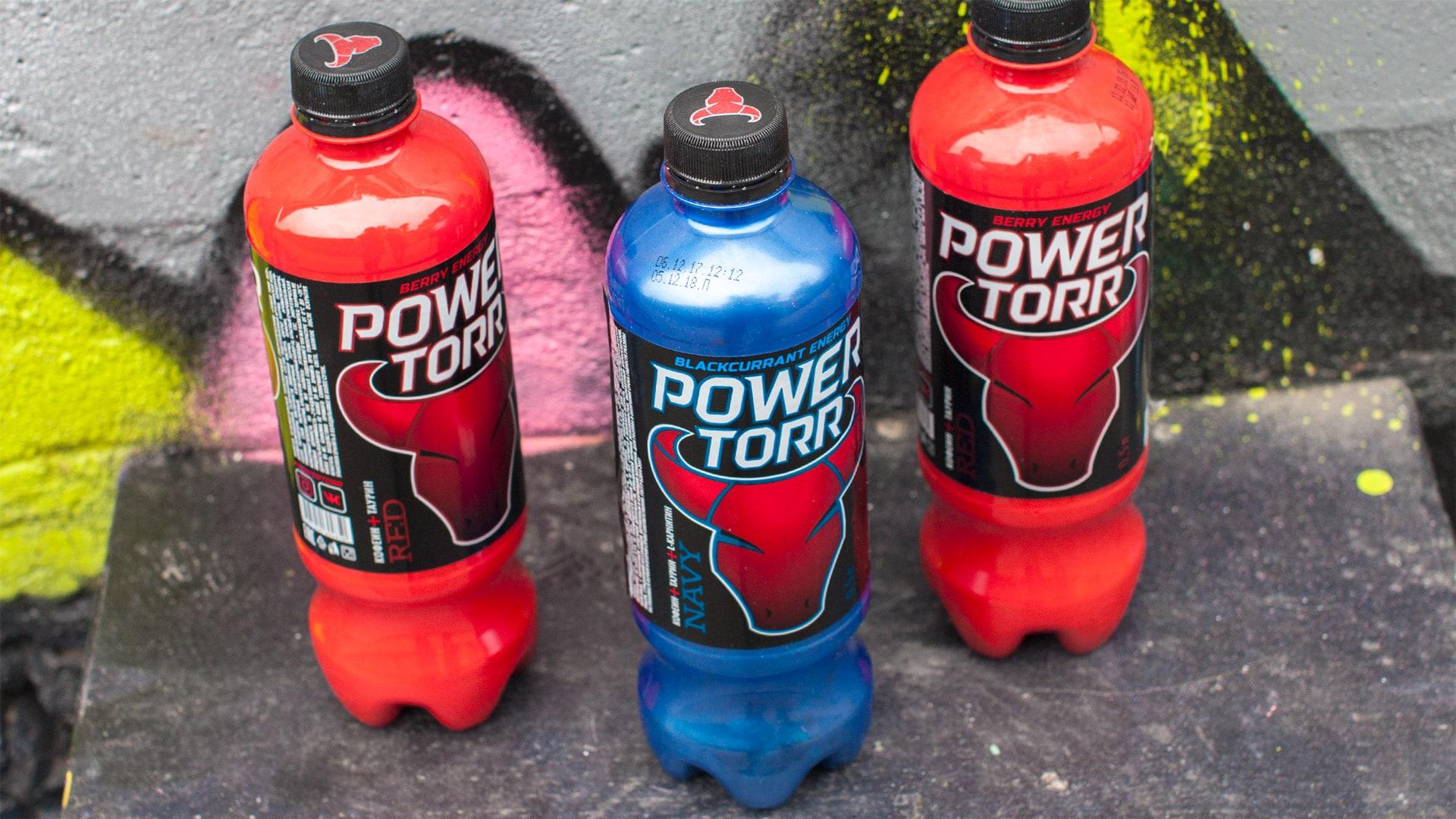 (Русский) Энергетический напиток Power Torr