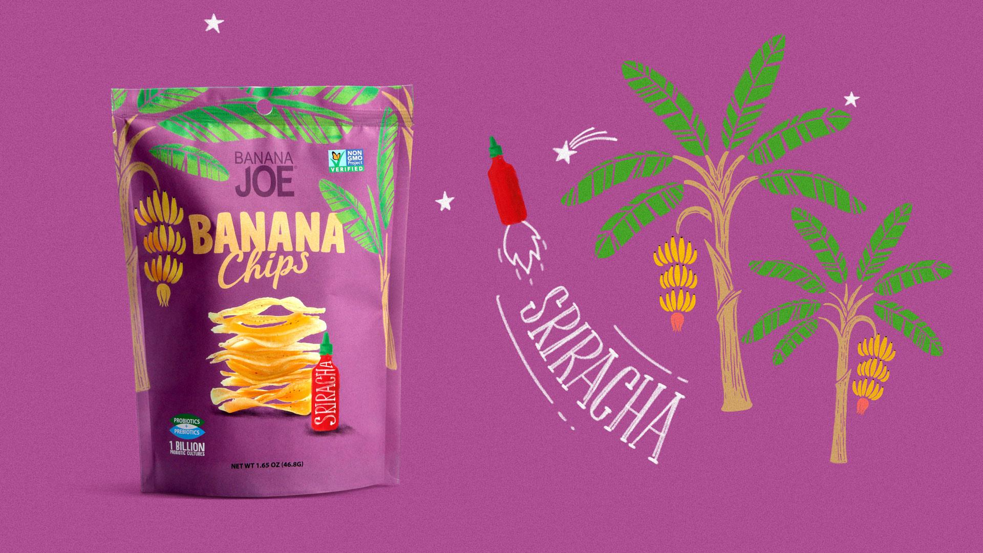 Дизайн упаковки Banana Joe